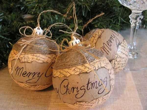 Zelf houten kerstdecoratie maken